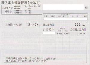 売電(2013年05月)